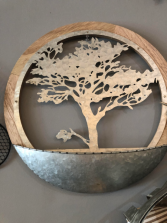 Tree Of Life Metal Decor