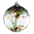 "TREE OF REMEMBRANCE 6"" HAND BLOWN GLASS BALL"