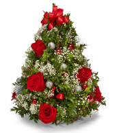 Tree with roses