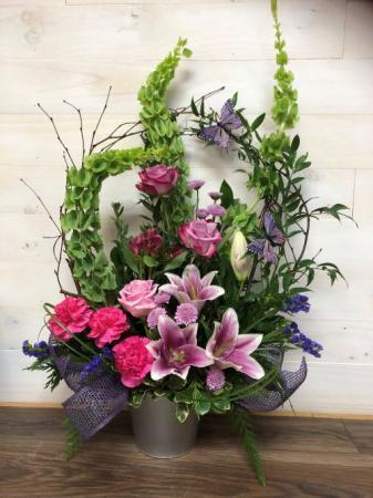 Trellis Flower Garden Sympathy