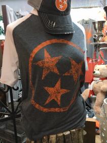 Tri Star TN Pride! T-Shirt (White sleeve or Orange sleeve)
