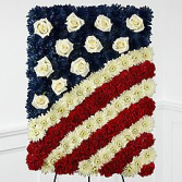 Tribute of Honor-Duty-Service Sympathy Panel on Easel