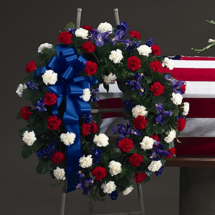 Tribute of Honor Large Standing Wreath