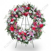 Tribute of Love Standing Wreath