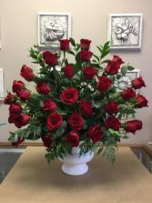 Tribute Red rose tribute