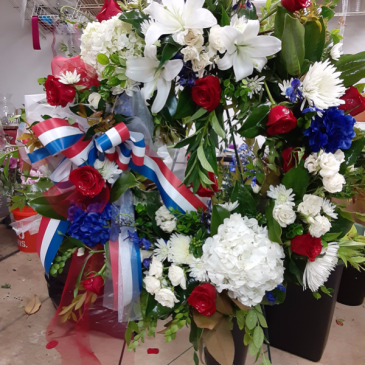tribute wreath funeral
