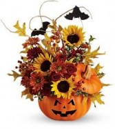 Trick and Treat Bouquet Halloween
