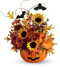Trick and Treat Bouquet Halloween in Loganville, GA | Flowers From The Heart