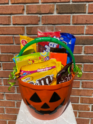 Trick-or-Treat Basket  in Melbourne, FL | VIOLETS IN BLOOM