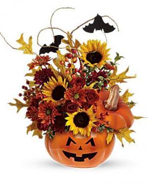 Trick Or Treat Boo-quet  in Spotsylvania, VA   Walker's Flowers & More
