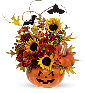 Trick or Treat Bouquet 2 Gifts in One!