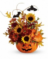 Trick or Treat Ceramic Pumpkin Keepsake