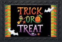 Trick or Treat Indoor/Outdoor Mat