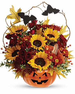 Trick & Treat Bouquet   in Winter Park, FL | ROSEMARY'S FLORAL & EVENTS