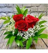 Trinity Rose Arrangement Rose Arrangement