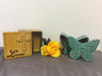TRINKET CERAMIC BOX- SPECIFY WHICH ONE IN SPECIAL