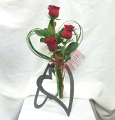 Triple Love Fresh Floral Design