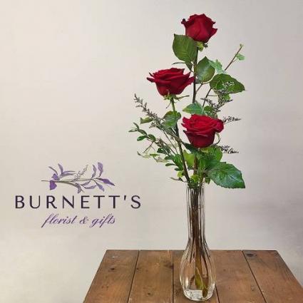 Rose Bud Vase Vase Arrangement