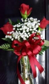 TRIPLE ROSES FLOWERS