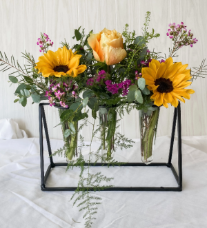 Triple Thanks Bouquet! table top in Zanesville, OH | FLORAFINO FLOWER MARKET & GREENHOUSES