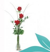 Triplet Vase Rose