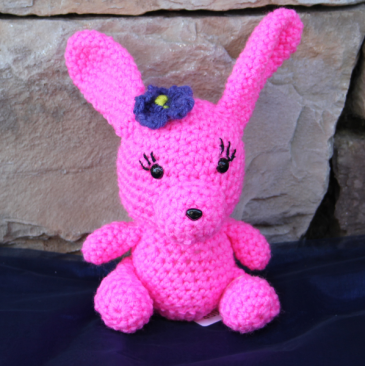 Trisha the Bunny Grandma's Crochet Plush