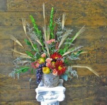 Triumphant Harvest Sympathy Arrangement