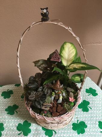 trolls garden basket garden