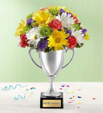 Trophy Bouquet You're The Best 148267