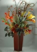 OC 5-Tropical arrangement Flowers and colors may vary