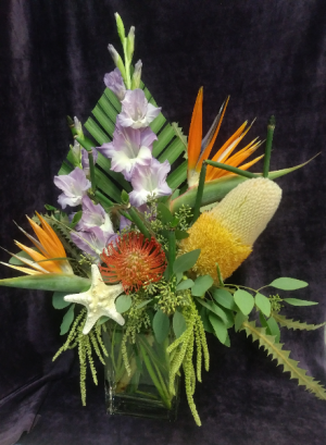 Tropical Arrangement Only One Available in Prescott, AZ | PRESCOTT FLOWER SHOP