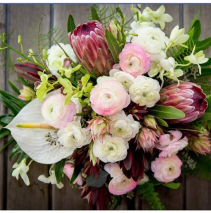 Tropical Bliss  Wedding bouquet