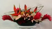 Tropical Blooms  Salon/After Deck Centerpiece