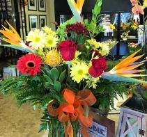 Tropical Love Bouqet Tropical Vase