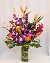 Tropical Burst Arrangement