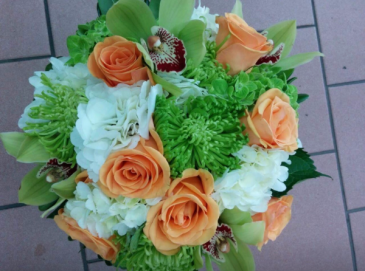 Tropical Burst Bridal Bouquet Bridal Bouquet