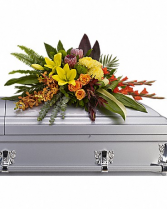 Tropical Casket Spray Casket Flowers