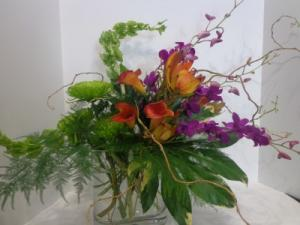 Tropical Celebration Signature Design  in Park City, UT | GALLERIA FLORAL & DESIGN