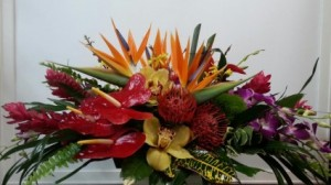 Tropical Centerpiece  in Fort Lauderdale, FL | ENCHANTMENT FLORIST