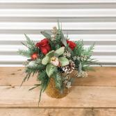 Tropical Christmas Arrangement