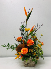 Tropical Circus Flower Arrangement