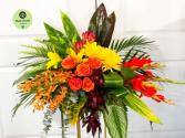 Tropical Colors Casket