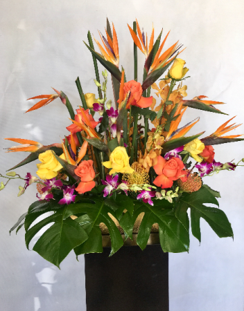 Tropical Decadence Centerpiece