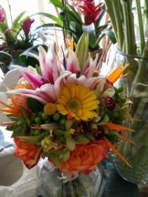 Tropical Delight Bridal Bouquet