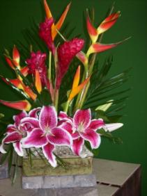 Tropical Delight fresh arrangement
