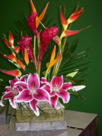 Tropical Delight fresh arrangement