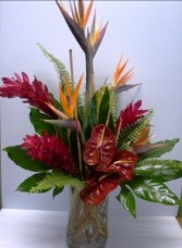 Tropical Fantasy Tropical arrangement