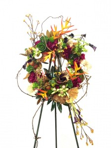 Tropical Farewell Sympathy funeral arrangement