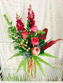 Tropical Fever Vase Arrangement
