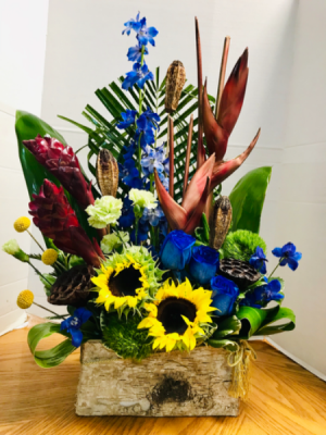 Tropical Forest Tropical Arrangement  in Lauderhill, FL | A ROYAL BLOOM FLOWERS & GIFTS